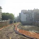 Bodemsanering afgerond, De Krook klaar voor eerstesteenlegging