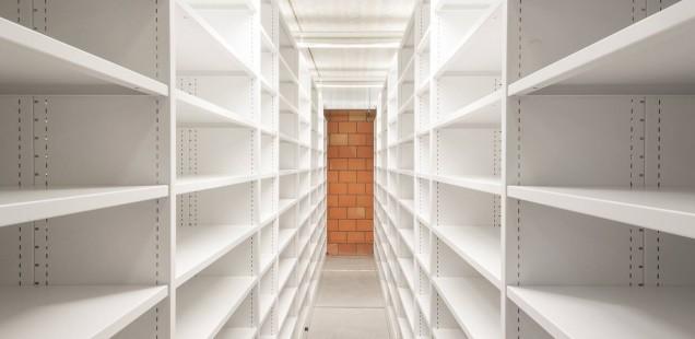 Ondergronds depot van Boekentoren nadert voltooiing