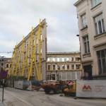 Werf-update: fragiele muren aan de Kouter