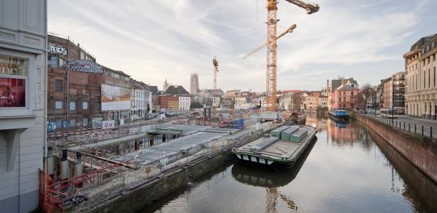 Werf-update: Nieuwe bibliotheek aan de Krook bijna bovengronds