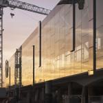 Werf-update: De nieuwe stationsinfrastructuur in de avondzon