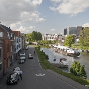 Eindbestemming De Krook. Een impressionante tocht op de Schelde.