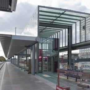 PGSP: Nieuw perron geeft voor eerste maal ruimtelijk gevoel van toekomstig station