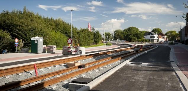 Werf-update: de eerste sporen van tram 2