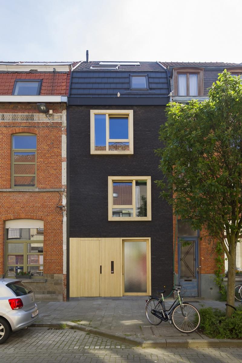 Openhuizendag tijdens 39 mijn huis mijn architect 39 gentcement - Renovatie oude huis fotos ...