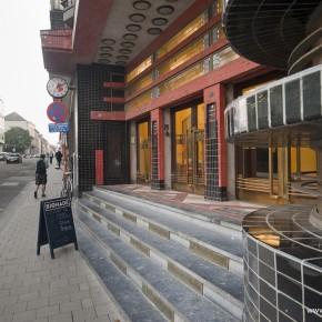 Verblijven in de voormalige kantoren van Dagblad Vooruit in de Backstay Hostel