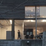 Samengesmolten arbeidershuisjes leiden tot woning die baadt in licht