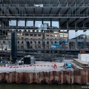 Werfupdate: De Bibliotheek aan de Krook sluit stilaan zijn gevels