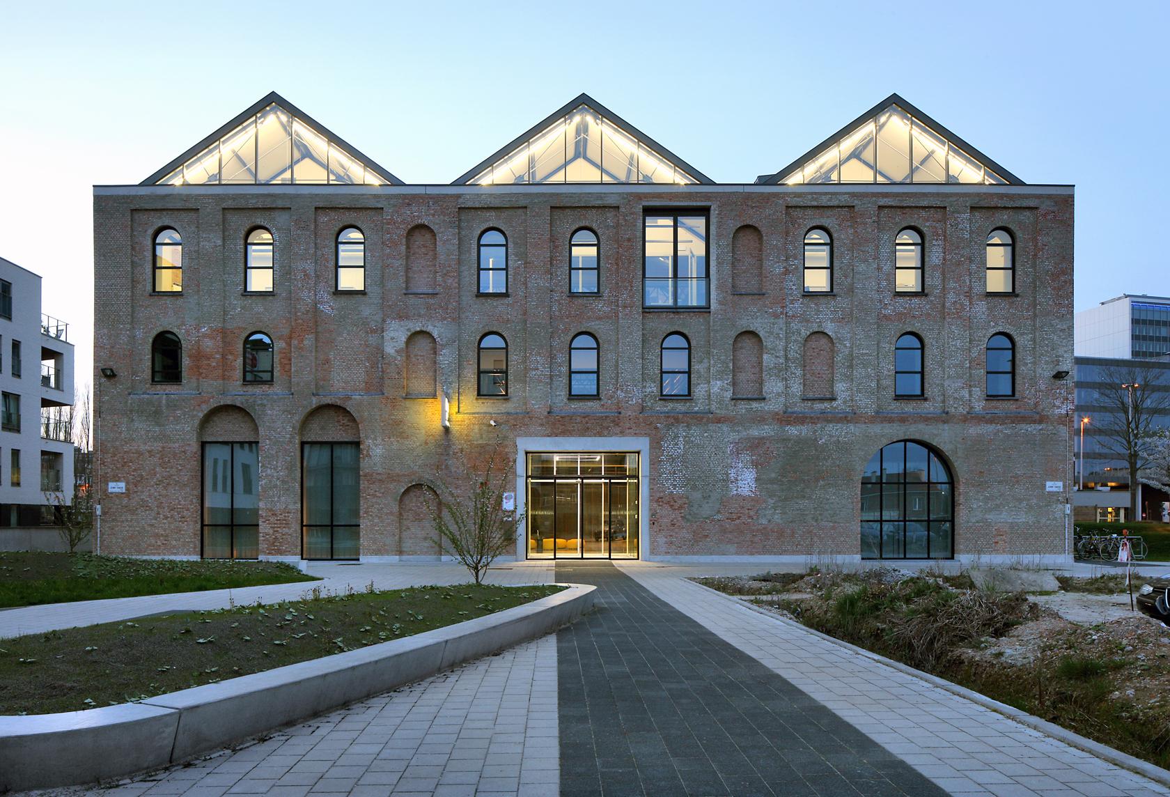 Fabriekspand Wordt Nieuw Hoofdkantoor Oost Vlaamse