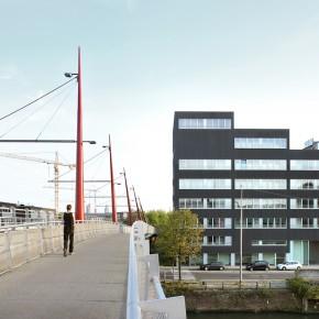 Administratiegebouw De Nieuwe Molens omgevormd tot appartementsgebouw