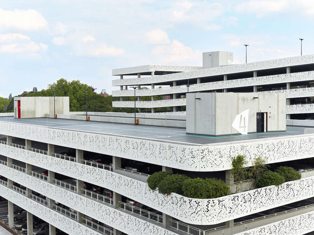 Parking AZ Sint-Lucas Gent by Abscis architecten