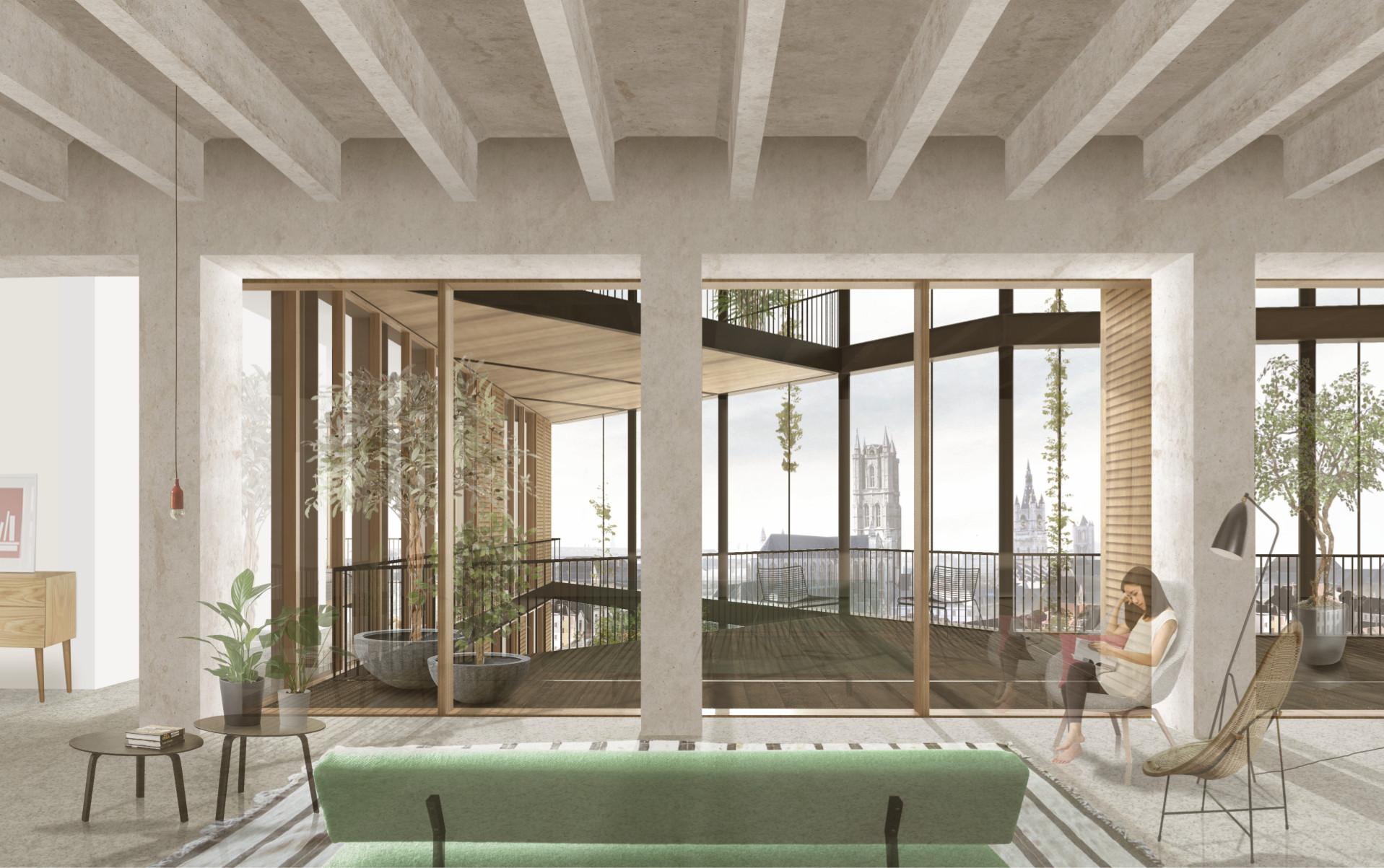 Portussite hertekend door architecten van de krook for Dat architecten