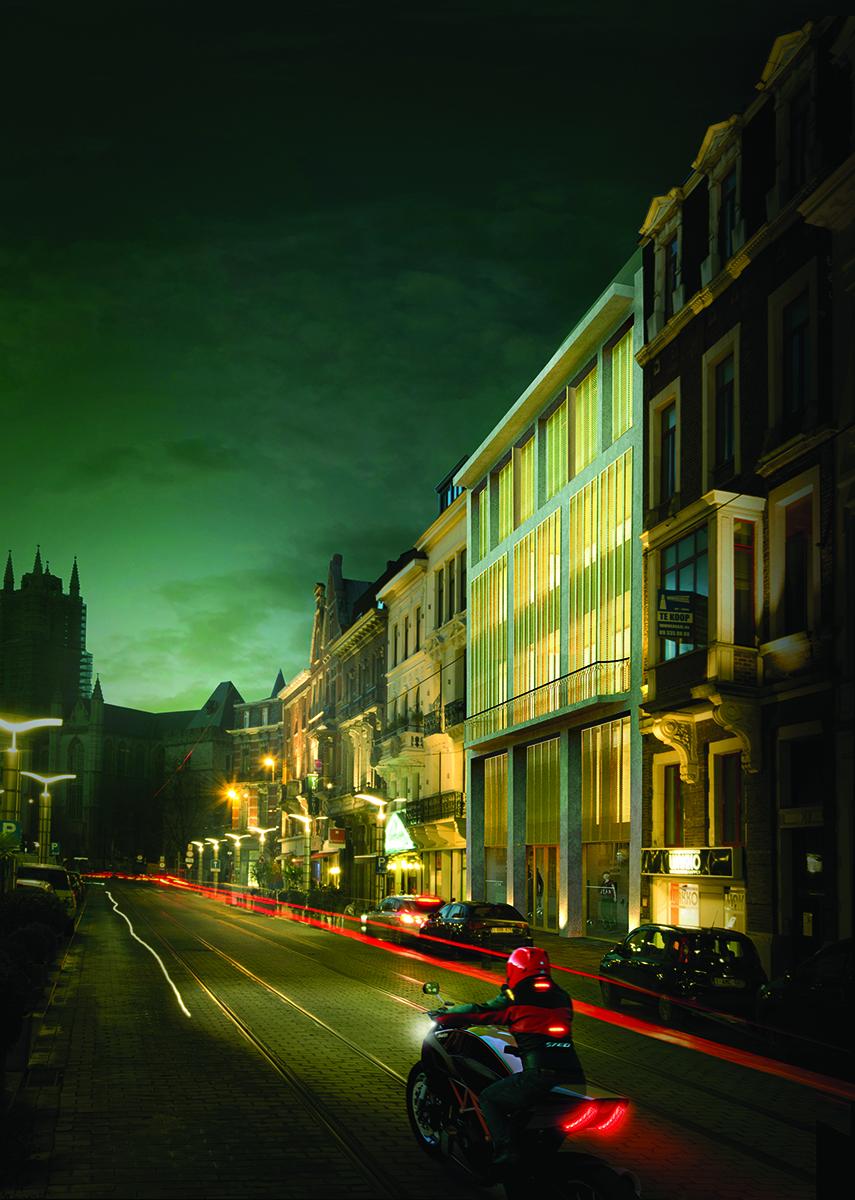 Domus Aurea in de Vlaanderenstraat.