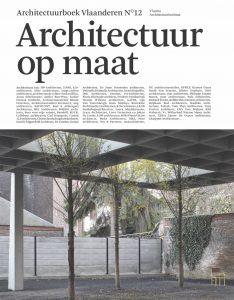 Het nieuwe Architectuurboek Vlaanderen N°12. Architectuur op maat.