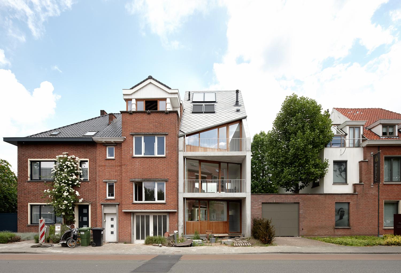 Voorgevel stadswoning Sint-Amandsberg