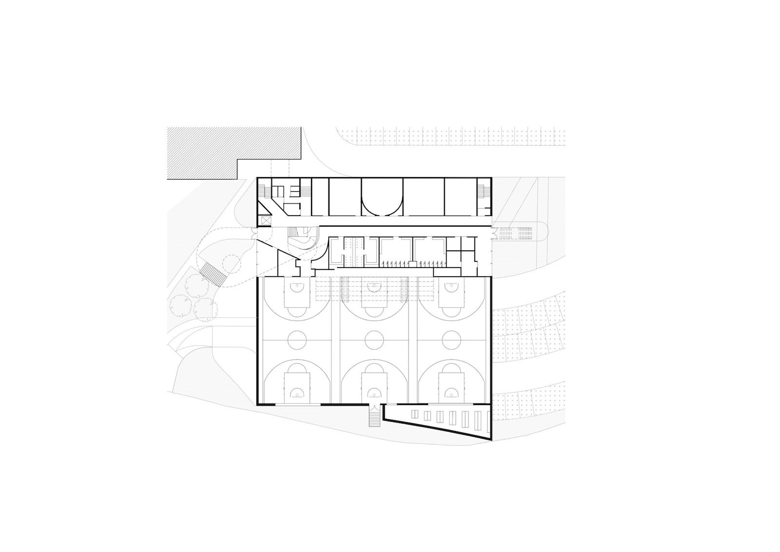 grondplan gelijkvloers
