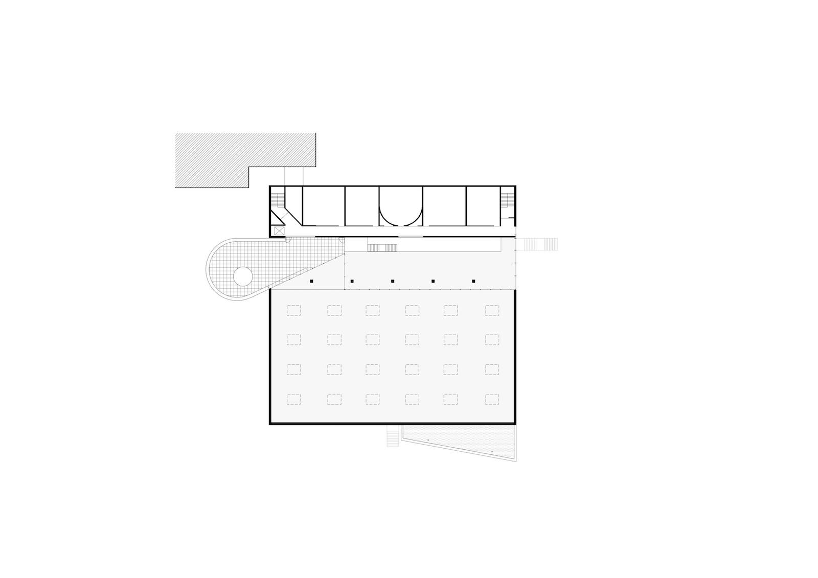 grondplan verdieping 2